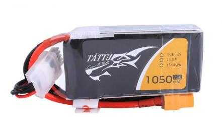 Gen Ace Battery  1050mAh/14.8Volt/75C