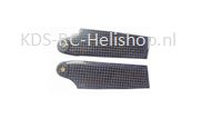 1193-6 500/600size heli Carbon fiber tail blades 92mm