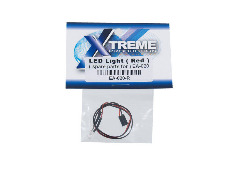 Xtreme Production Extreme LED Light - Red (spare parts for EA