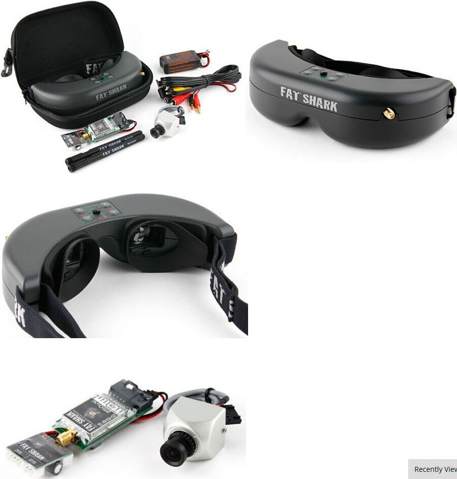 FatShark Teleporter V3 FPV Goggles Bril, Headset Systeem w/5MP 7