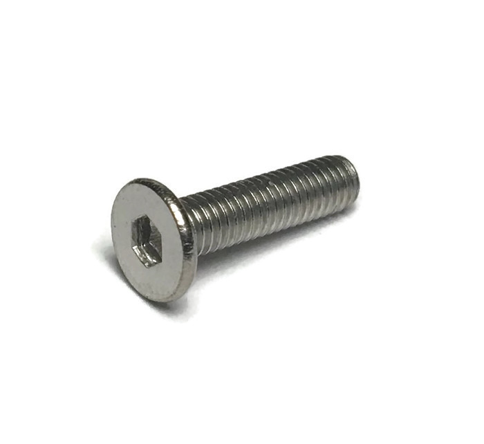 M3 12mm flat head bolt stainless steel