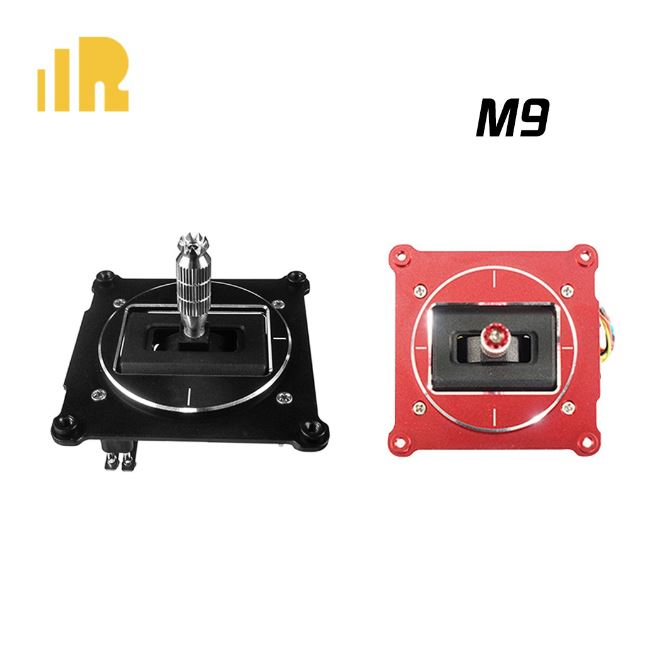 FrSky M9 Hall Sensor gimbal Black and Red Panel for Taranis X9D