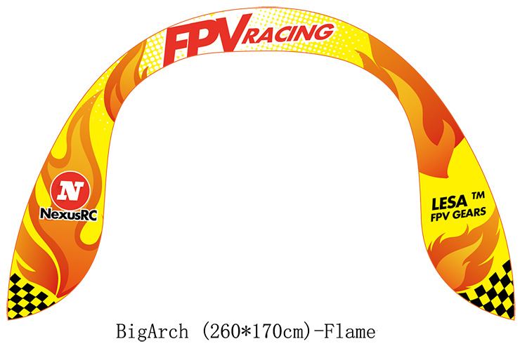 FPV air gate Big Arch FLAME