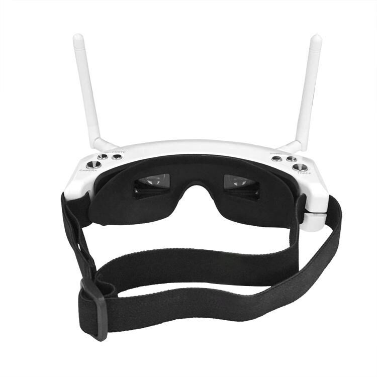 Skyzone SKY02S V+ 3D 5.8G 48CH FPV Goggles With Head Tracking HD